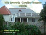 Villa Smeraldo - Zanzibar Tanzania Holiday