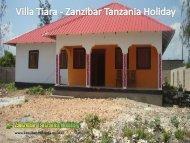 Villa Tiara - Zanzibar Tanzania Holiday