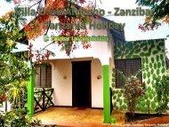 Villa Uroa Africano - Zanzibar Tanzania Holiday