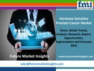Hormone Sensitive Prostate Cancer Market size and Key Trends in terms of volume and value 2016-2026