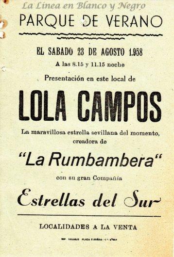 1958-08-23 Lola Campos - La Rumbambera