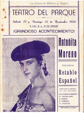 1958-11-23 Antoñita Moreno - Retable español