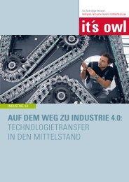 Auf dem Weg zu Industrie 4.0 - Technologietransfer in den Mittelstand (2016)