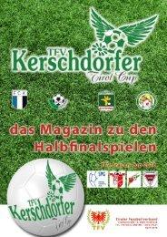 TFV Magazin zum Halbfinale des TFV Kerschdorfer Tirol Cup und des TFV Frauen Cup 2016