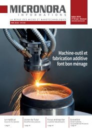 Machine-outil et fabrication additive font bon ménage