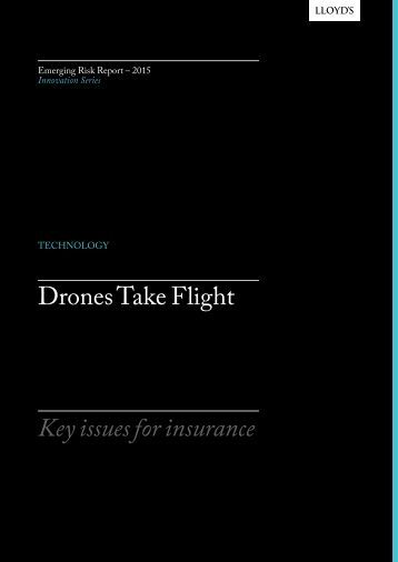 Drones Take Flight Key issues for insurance