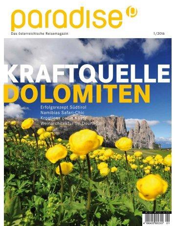 paradise - Ausgabe April 2016