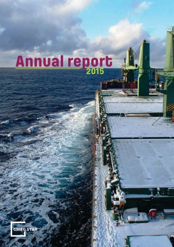 Grieg Star Annual report 2015