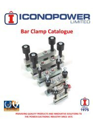 Iconopower Bar Clamp Catalogue