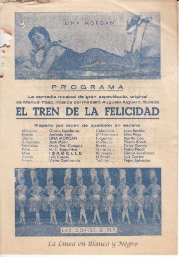 1958-12-28 Lina Morgan - El Tren de la Felicidad