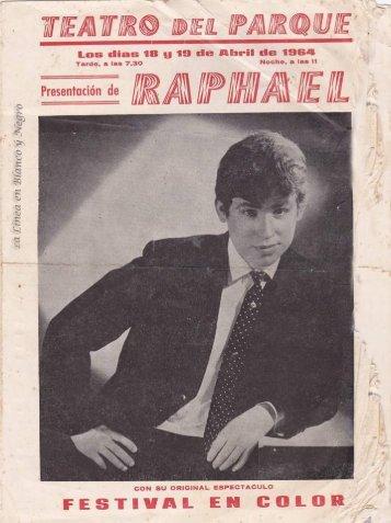 1964-04-18 Raphael - Festival en color