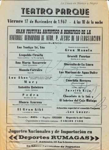 1967-11-17 Gran Festival benefico para la Flagelacion