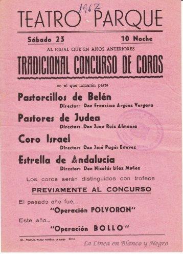 1967 Tradicional Concurso de Coros