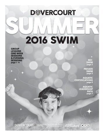 Dovercourt Summer swim 2016 web