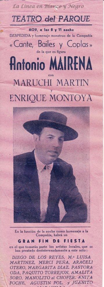 Antonio Mairena - Cante Baile y Coplas