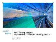 MAC Pricing Analysis