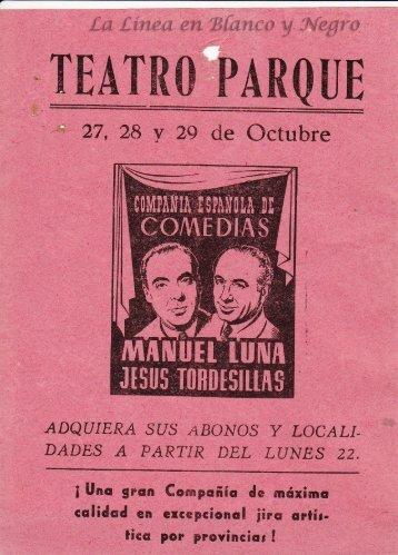 Compañia de Comedias Manuel Luna y Jesus Torresillas