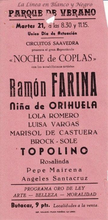 Ramon Farina - Noche de Coplas