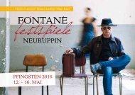 Festspielheft Fontane 2016