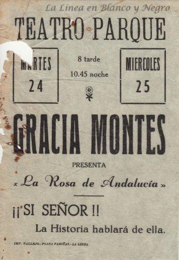 Gracia Montes - La Rosa de Andalucia
