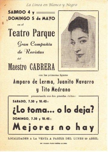 Gran Compañia de Revistas Maestro Cabrera - Lo Toma o lo deja 0