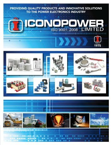 Iconopower All Products Brochure