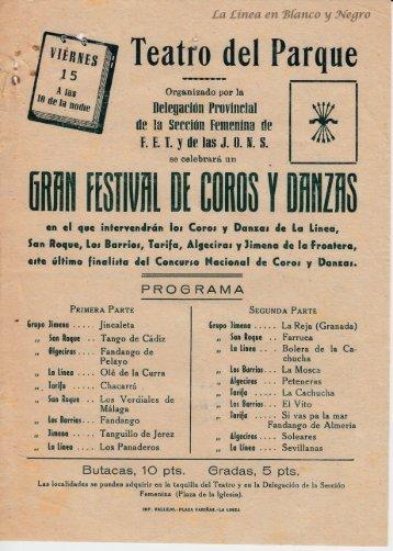 Gran Festival de Coros y Danzas