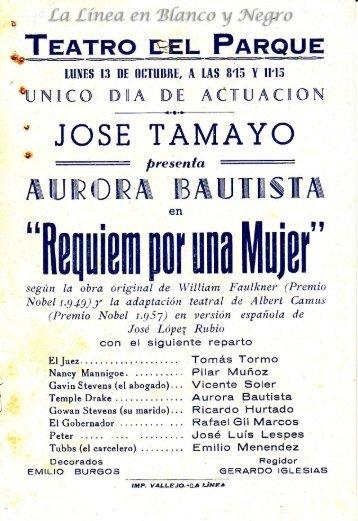 Jose Tamayo - Requiem por una mujer
