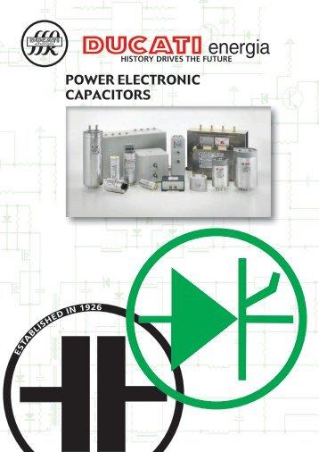 Ducati Power Electronic Capacitor Catalogue
