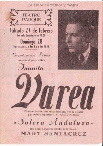 Juanito Varea - Solera Andaluza