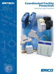 Erico Surge Protection Solutions Catalogue