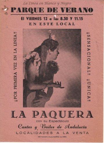 La Paquera - Cantes y Bailes de Andalucia