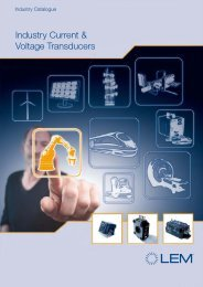 industry current voltage transducers