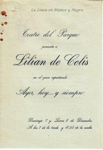 Lilian de Celis - Ayer Hoy y Siempre