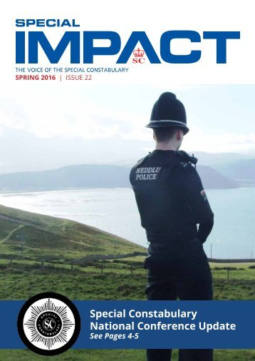 Special Constabulary National Conference Update