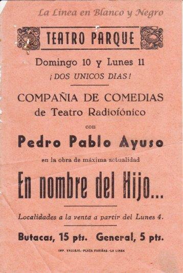Pedro Pablo Ayuso - En nombre del Hijo