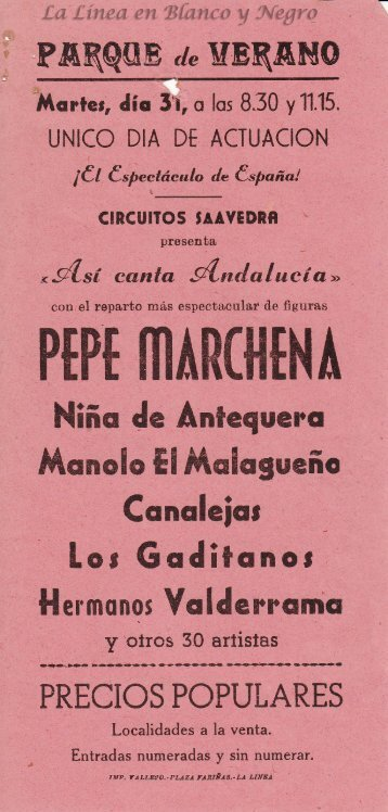 Pepe Marchena - Asi Canta Andalucia