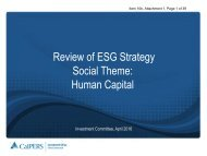 Review of ESG Strategy Social Theme Human Capital