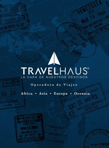 catalogo 2016-2017 TRAVELHAUS