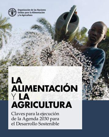 LA ALIMENTACIÓN Y LA AGRICULTURA