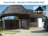 VILLA DEL SOLE - Available to Book online NOW!