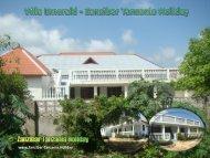Villa Emerald - Zanzibar Tanzania Holiday