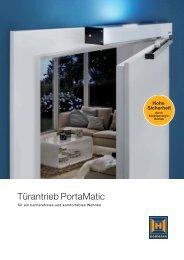 Türantrieb PortaMatic