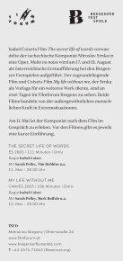 Bregenzer Festspiele und Filmforum - Seite 2