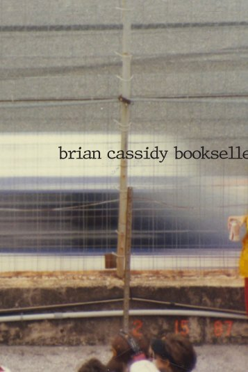 brian cassidy bookselle
