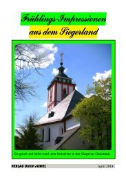 Siegerland - Frühlings-Impressionen