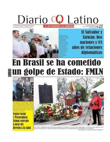 Edición 19 de Abril de 2016
