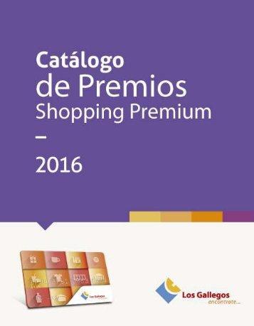 Catálogo de Premios