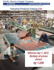 download pasco catalog c26 - Pacific Abrasive