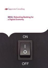 BBVA Rebooting Banking for a Digital Economy